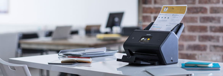 Scanner  på skrivebord