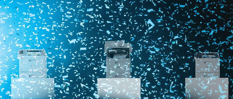 Printere med konfetti