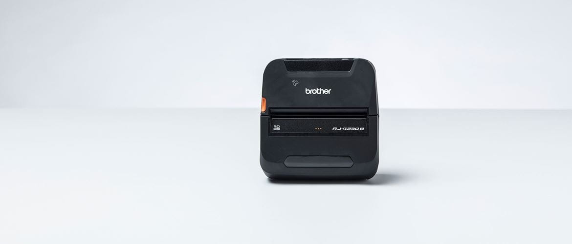 Brother RJ-4B 4inch mobile label printer