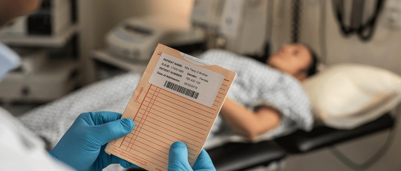 Potilastietojen tarramerkitseminen