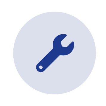 Font awesome wrench icon
