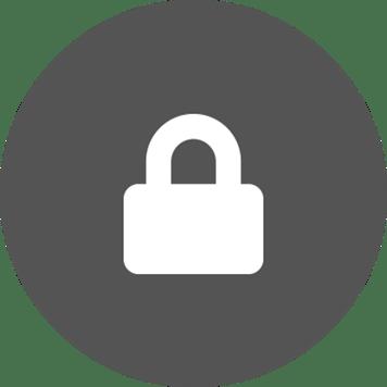 Logo for sikkerhed