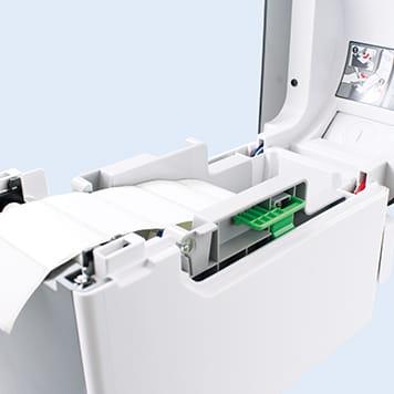 TD-rullat ovat karattomia, joten ne vain tiputetaan tulostimeen.