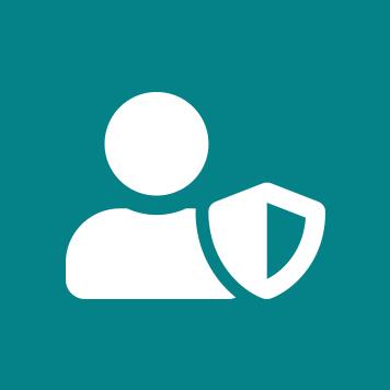 ikon for sikkerhet
