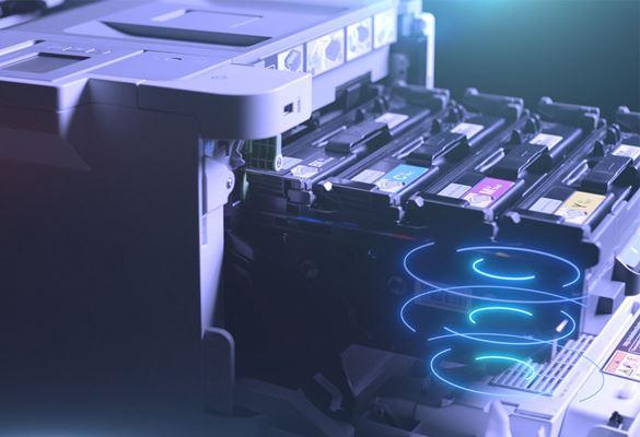 HL-L9310CDW spalvotas A4 formato spausdintuvas verslui su iš jo traukiamomis dažų kasetėmis