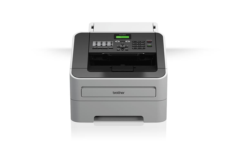 Brother fakso įrenginys baltame fone