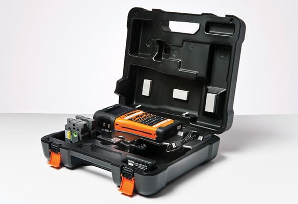 Brother PT-E550WVP in carry case