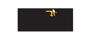 Staycity logo with bee