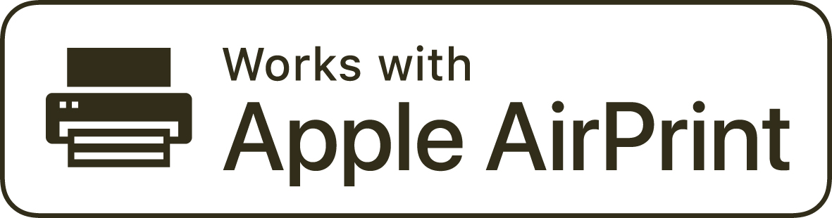 Logo Works with Apple AirPrint