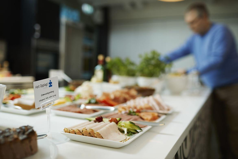 Food on table HeltOpplagt