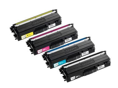 Färg laser toner Brother C M Y BK