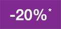 -20% akcijas atlaide