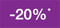 -20% promotional discount