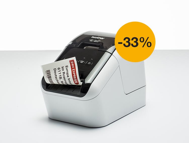 Tilaa QL800-etikettitulostin nyt kampanjahintaan!