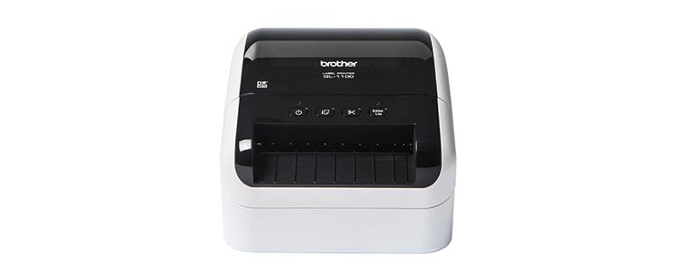 Brother QL1100 skrivebords etikettskriver front