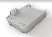 Brother PABU001 batteribase med oppladbart Li-Ion batteri til etikettskriver