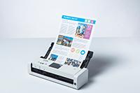 ADS-1700W skaitytuvas su spalvotu dokumentu