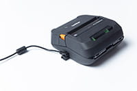 PA-AD-600 accessory plugged into Brother RJ-4 mobile printer
