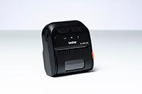 RJ-2055WB-tulostimella voit tulostaa taustapaperittomalle materiaalle