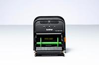 Brother PARH002 rullholder montert i RJ mobil etikettskriver og kvitteringsskriver