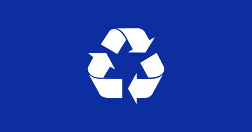 Font awesome recycling icon