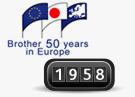 1958 Brother aloitti toimintansa Euroopassa