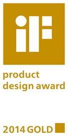 IF product Design Award 2014 GOLD