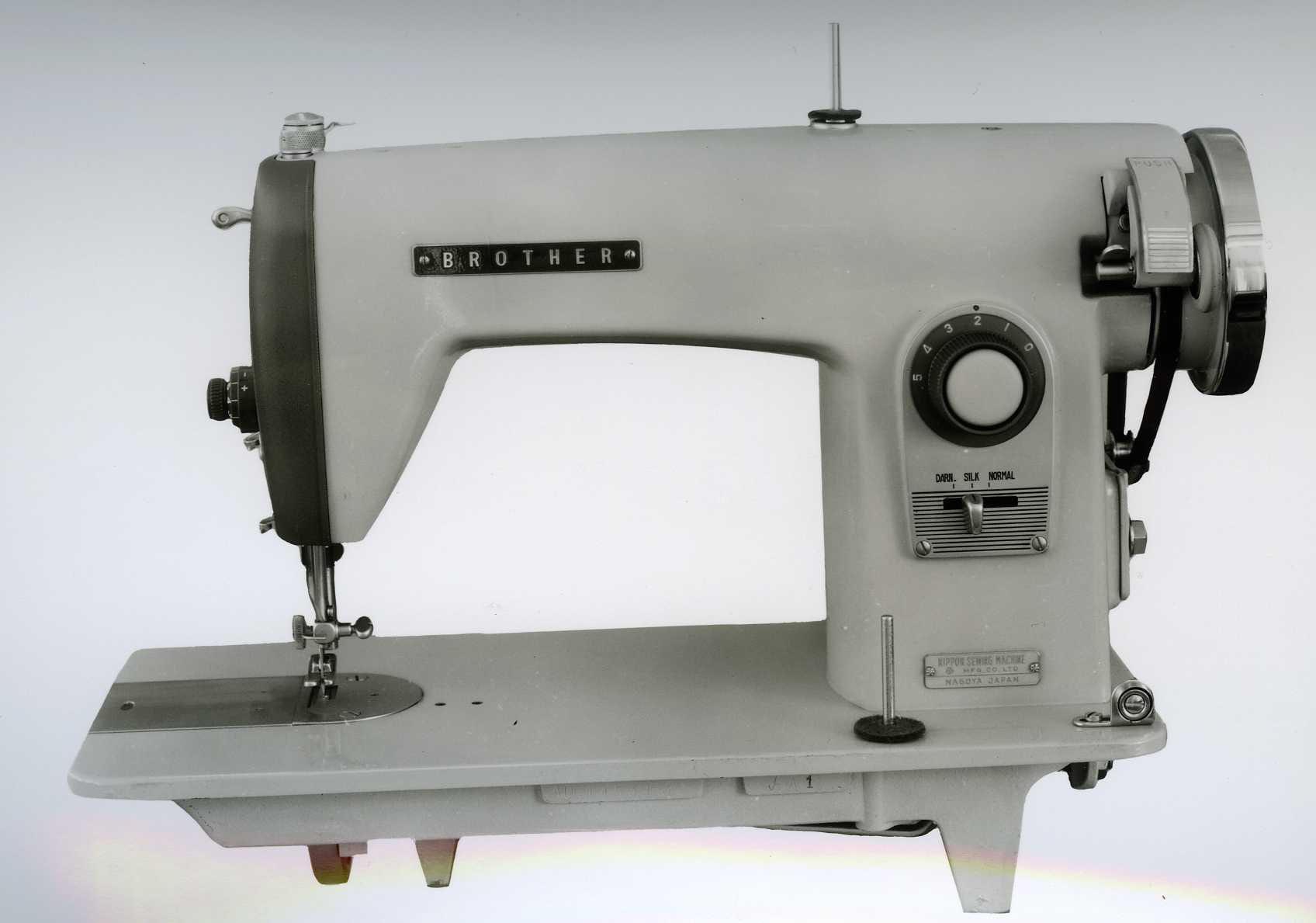 En gammel Brother symaskin