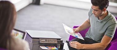 6 truques para poupar tinta com as impressoras Brother