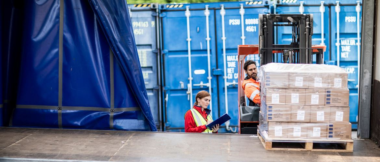 Que tipos de etiquetas necessita o setor da logistica