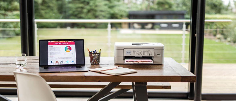 Impressoras multifunções tinta compactas Brother