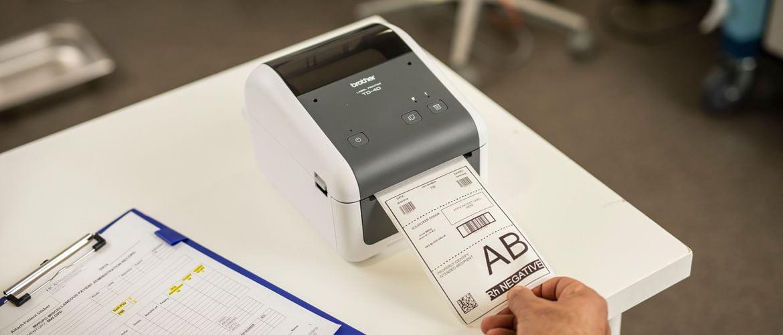 Impressoras de tecnologia térmica direta TD Brother