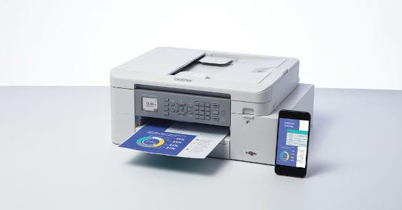 Impressora multifunções tinta com WiFi Brother