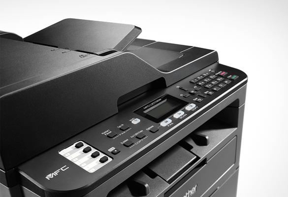 Visor impressora multifunções laser Brother