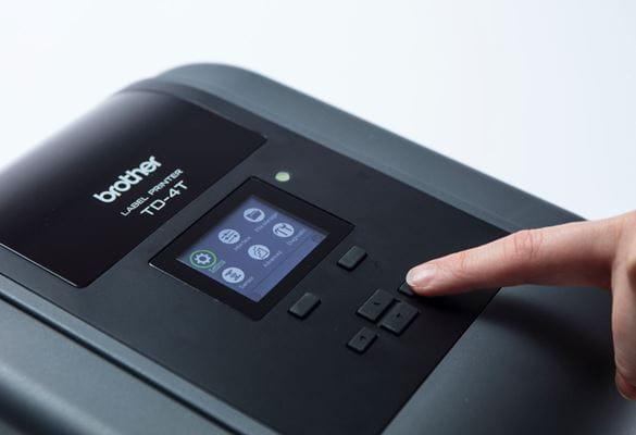 Impressoras de transferência térmica Brother