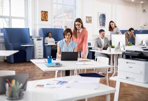 Benefícios do software de gestão de impressoras Brother