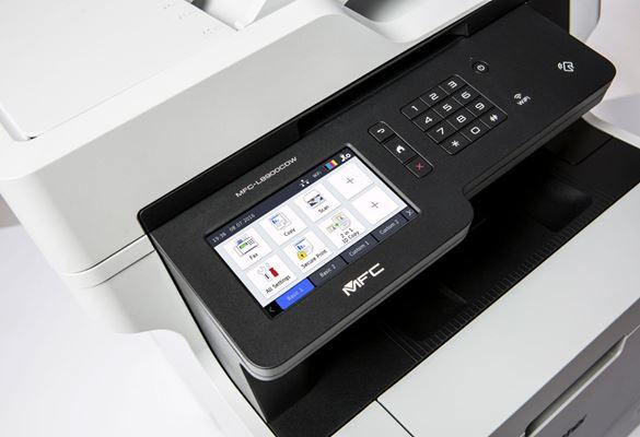 Impressoras seguras Brother com password
