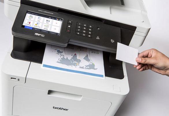Impressoras Brother com solução de segurança Secure Print+