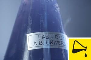 Fitas resistentes a produtos químicos