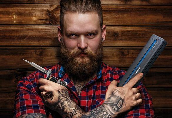 Termocopiadoras para tatuadores, Brother