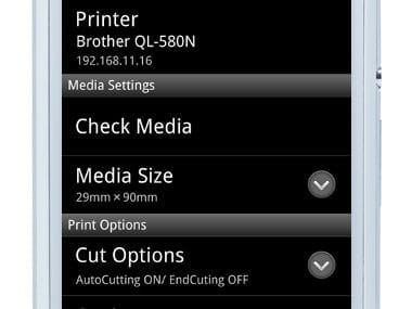 Passo 2 App iPrint&Label Brother