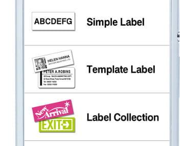 Passo 3 App iPrint&Label Brother