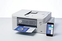 Impresora multifunções jato com benefícios profissionais Brother