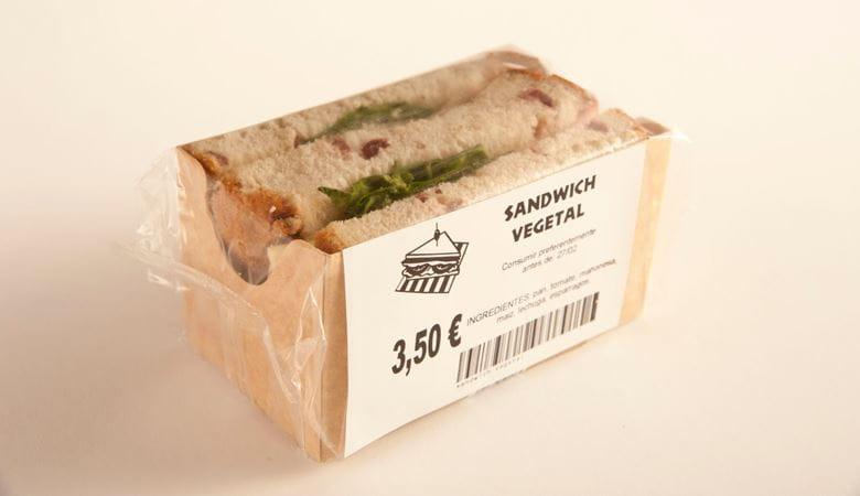 Sandwich marcado