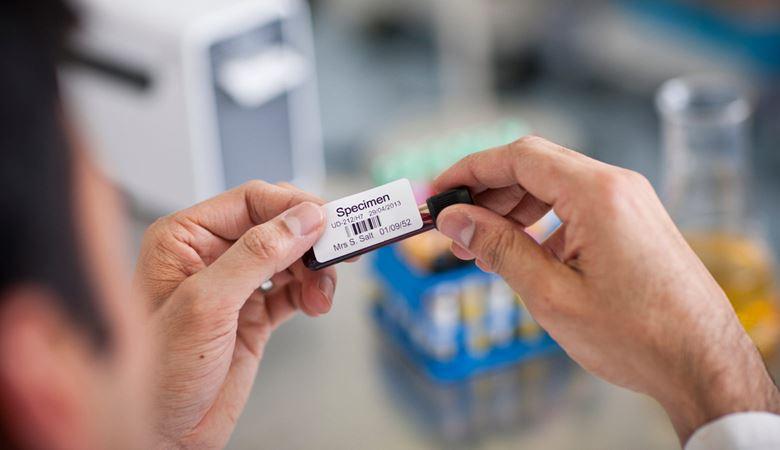 Etiquetas muestras