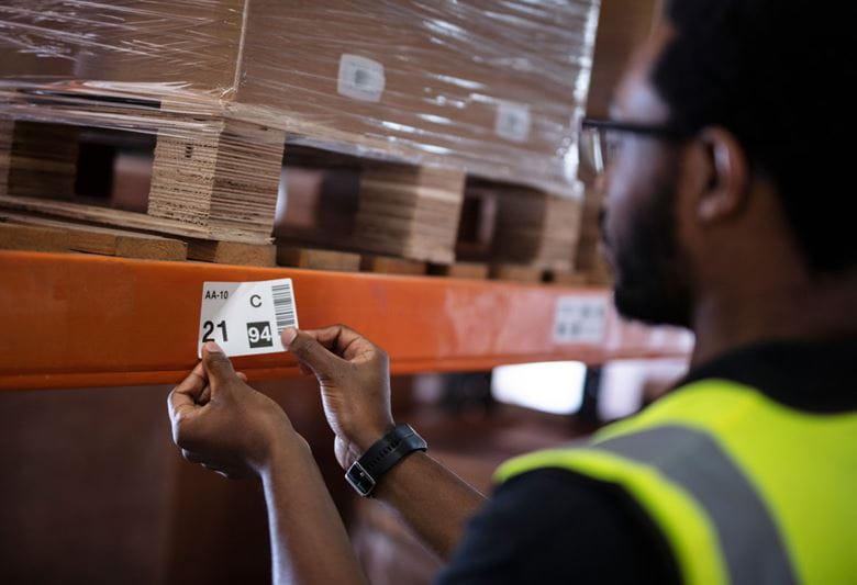 Etiquetas Brother para o setor transporte e logística
