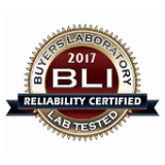 Buyers Laboratory 2017 BLI. Reliability Certified Lab Tested