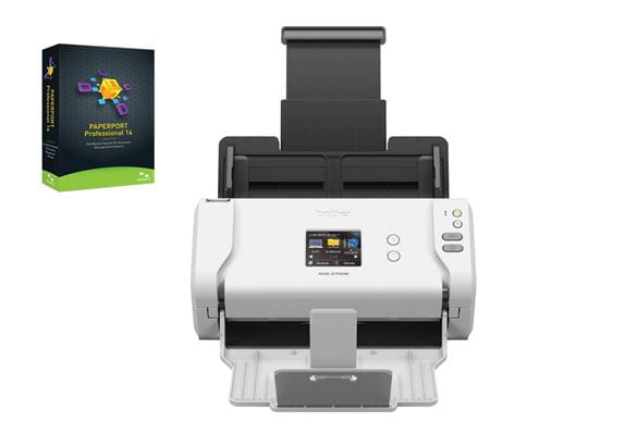 ADS2700W scanner with Nuance Paperport software