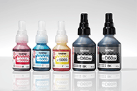 High yield ink bottles compatible with DCP-T720DW