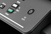 Wifi icon on DCP-T820DW